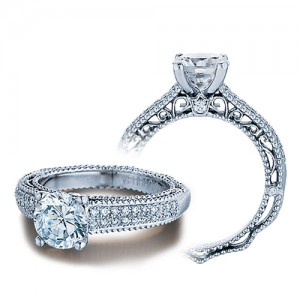 Verragio Venetian-5011R Platinum Engagement Ring