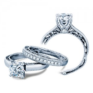 Verragio Venetian-5012 Platinum Engagement Ring