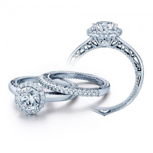 Verragio Venetian-5019R Platinum Engagement Ring