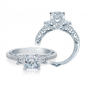 Verragio Venetian-5023P Platinum Engagement Ring