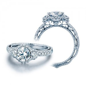 Verragio Venetian 5025R Platinum Engagement Ring
