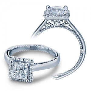 Verragio Venetian 5042P Platinum Engagement Ring