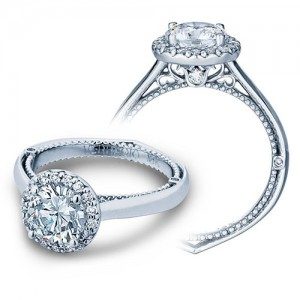 Verragio Venetian 5042R Platinum Engagement Ring