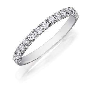 Henri Daussi WBSR Diamond Wedding Ring