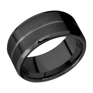 Lashbrook Z10B11U Zirconium Wedding Ring or Band