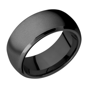 Lashbrook Z10DB Zirconium Wedding Ring or Band