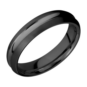 Lashbrook Z5DC Zirconium Wedding Ring or Band