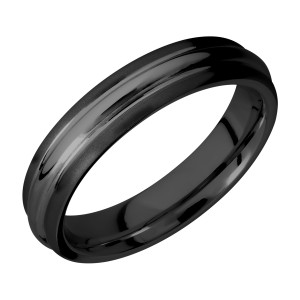 Lashbrook Z5DD Zirconium Wedding Ring or Band