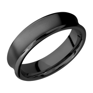 Lashbrook Z6CB Zirconium Wedding Ring or Band