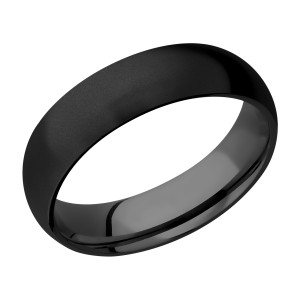 Lashbrook Z6D Zirconium Wedding Ring or Band