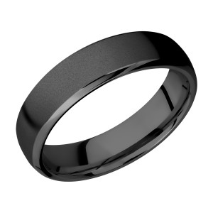 Lashbrook Z6DB Zirconium Wedding Ring or Band