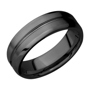 Lashbrook Z7B11U Zirconium Wedding Ring or Band