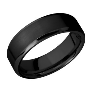 Lashbrook Z7B Zirconium Wedding Ring or Band