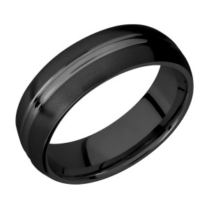 Lashbrook Z7DD Zirconium Wedding Ring or Band