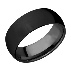 Lashbrook Z8D Zirconium Wedding Ring or Band