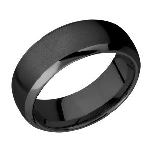 Lashbrook Z8DB Zirconium Wedding Ring or Band