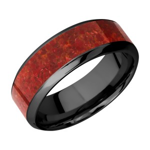 Lashbrook Z8HB15/MOSAIC Zirconium Wedding Ring or Band