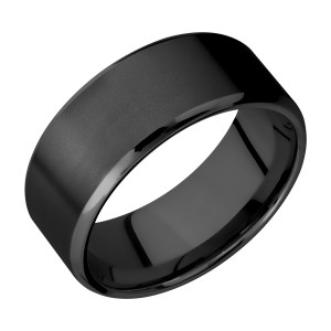 Lashbrook Z9B Zirconium Wedding Ring or Band