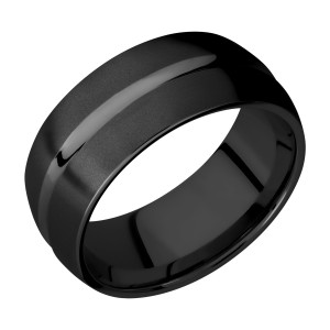 Lashbrook Z9DC Zirconium Wedding Ring or Band