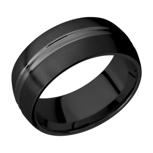Lashbrook Z9DD Zirconium Wedding Ring or Band