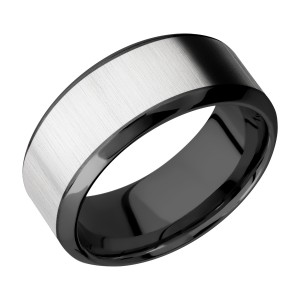 Lashbrook ZPF9HB16/COBALT Zirconium Wedding Ring or Band