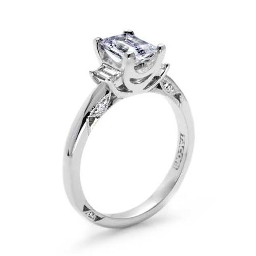 Tacori 18 Karat Simply Tacori Engagement Ring 2591EM7X5 Alternative View 1