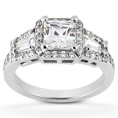 Taryn Collection 18 Karat Diamond Engagement Ring TQD 6068