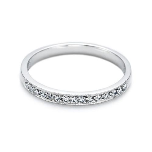 Tacori 18 Karat Simply Tacori Wedding Band 2521