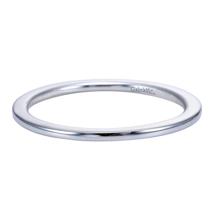 Gabriel Platinum Contemporary Wedding Band WB7268PTJJJ