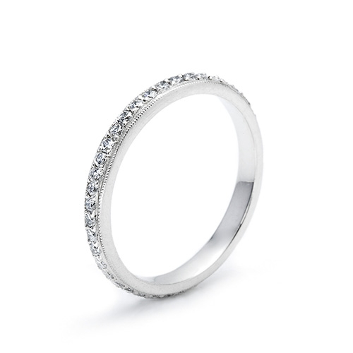 Tacori Platinum Simply Tacori Wedding Band 2521 ET Alternative View 1