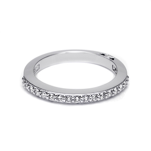 Tacori 18 Karat Simply Tacori Wedding Band 2630BLG12