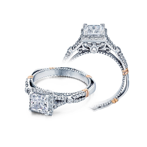 Verragio Parisian-109P Platinum Engagement Ring