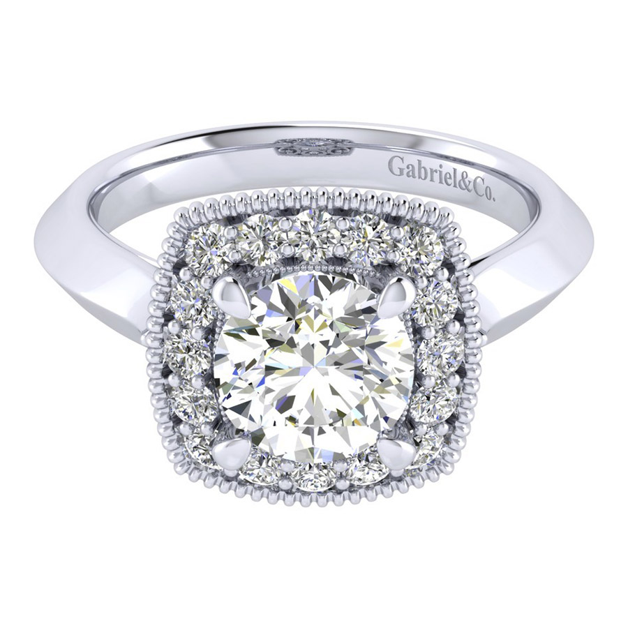 Gabriel 14 Karat Perfect Match Engagement Ring ER001C6ABW44JJ
