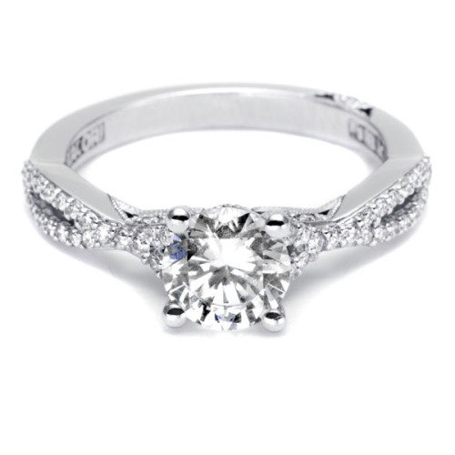 Tacori Platinum Simply Tacori Engagement Ring 3004 Alternative View 2