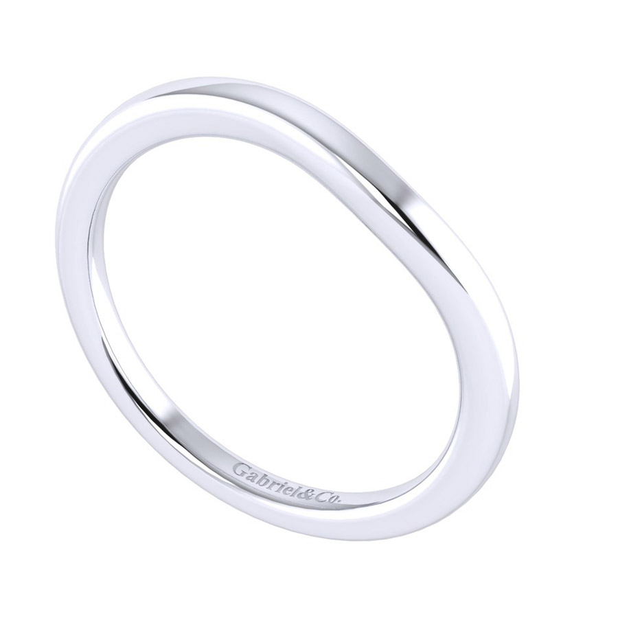 Gabriel 14 Karat Perfect Match Wedding Band WB009AW4JJJ Alternative View 2