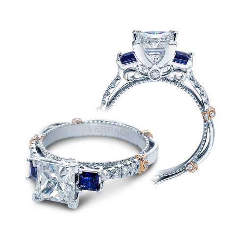 Verragio Parisian-CL-DL124P 18 Karat Engagement Ring
