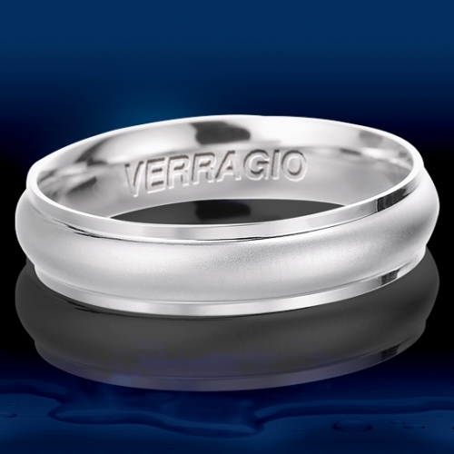 Verragio Platinum Wedding Band VW-5006 Alternative View 1