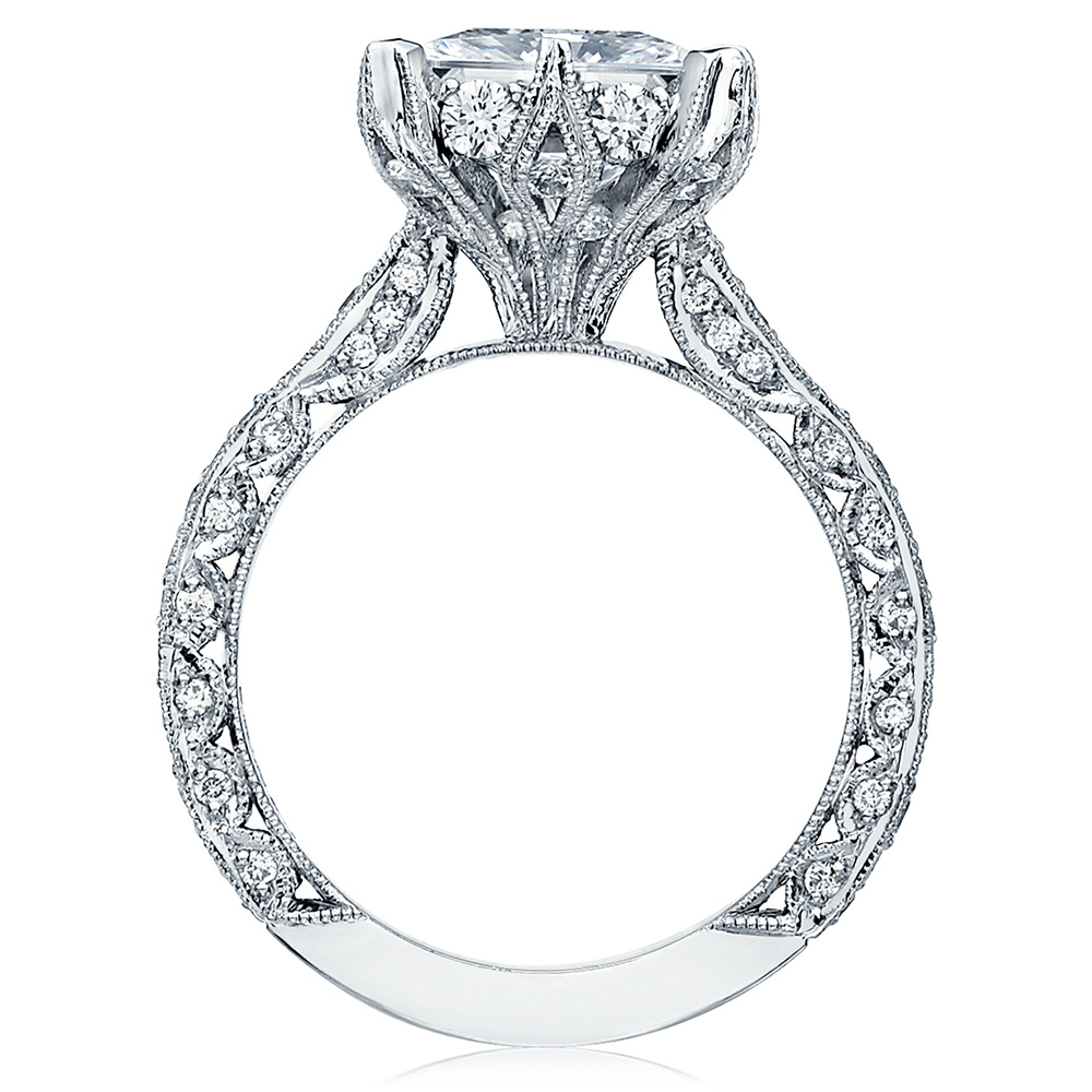 HT2604PR85 Platinum Tacori RoyalT Engagement Ring Alternative View 1