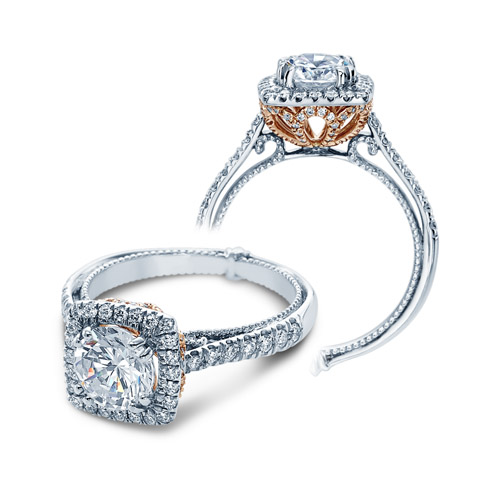Verragio Couture-0433CU-TT Platinum Engagement Ring Alternative View 3
