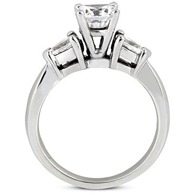 Taryn Collection 14 Karat Diamond Engagement Ring TQD 2061 Alternative View 2