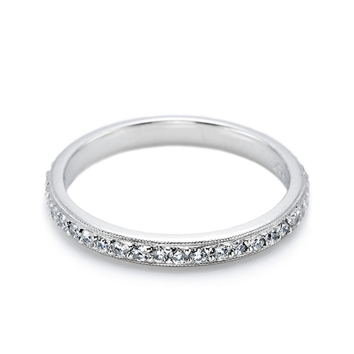 Tacori Platinum Simply Tacori Wedding Band 2521 ET