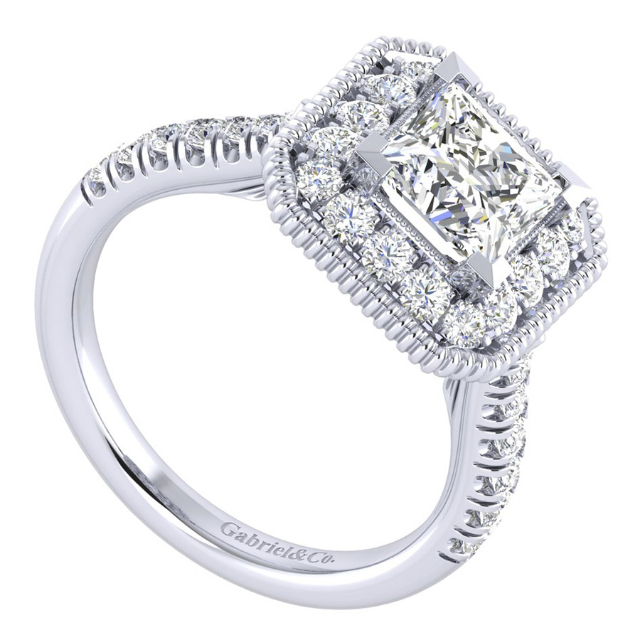 Gabriel 14 Karat Perfect Match Engagement Ring ER039C6ALW44JJ Alternative View 2
