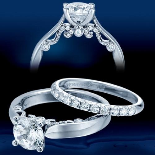 Verragio 18 Karat Insignia Engagement Ring INS 7022