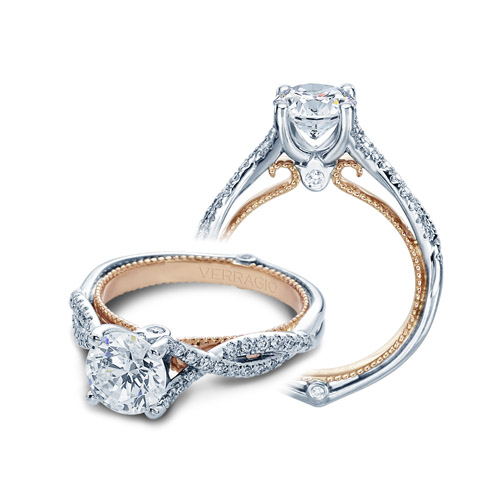 Verragio Couture-0421R-TT 18 Karat Engagement Ring