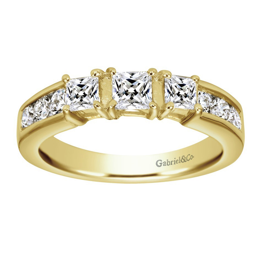 Gabriel 14 Karat Contemporary Wedding Band WB3677Y44JJ Alternative View 4
