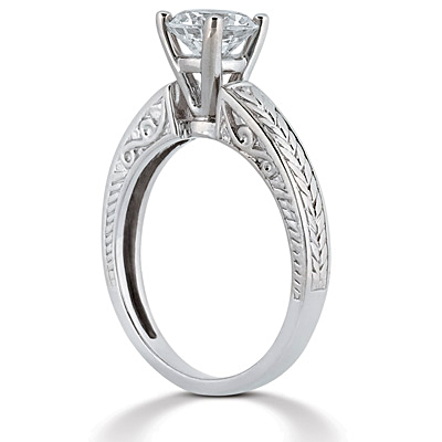 Taryn Collection 14 Karat Diamond Engagement Ring TQD 6571 Alternative View 1