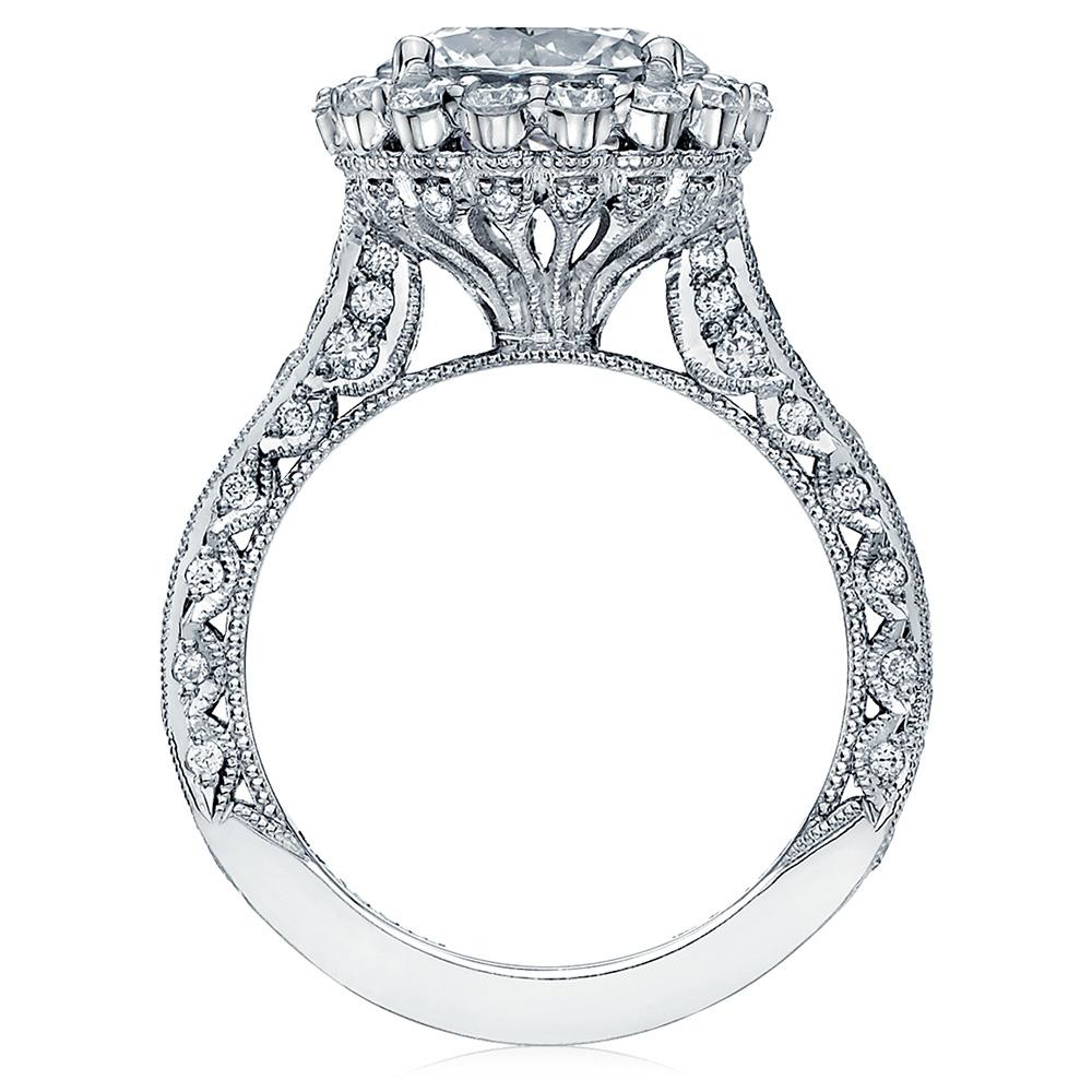 Ht2605rd95 Platinum Tacori Royalt Engagement Ring Tq