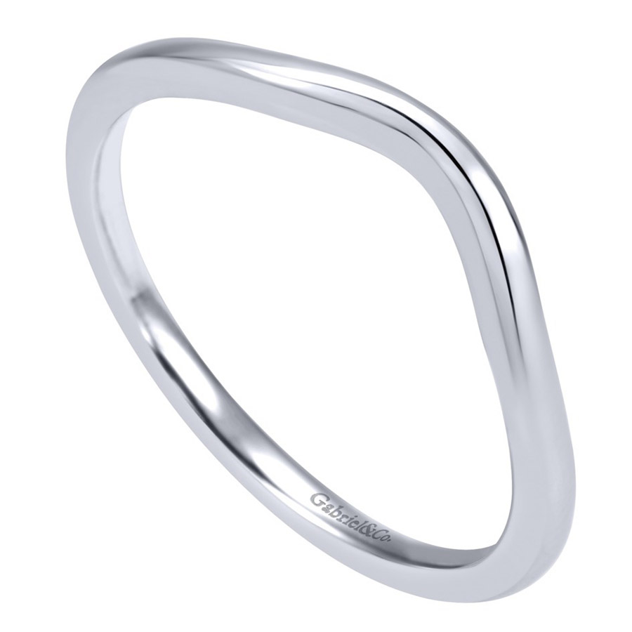 Gabriel 14 Karat Contemporary Wedding Band WB911902R0W4JJJ Alternative View 2
