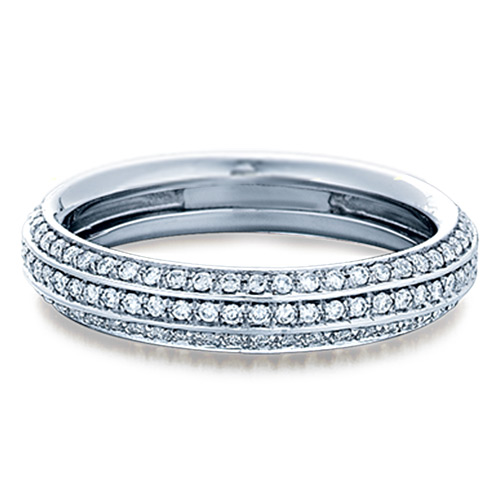 Verragio Wedding Bands.Verragio Platinum Eterna Wedding Band Eterna 0284w