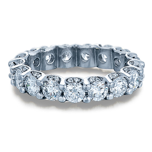 Verragio Platinum Eterna Wedding Band Eterna-4001 L